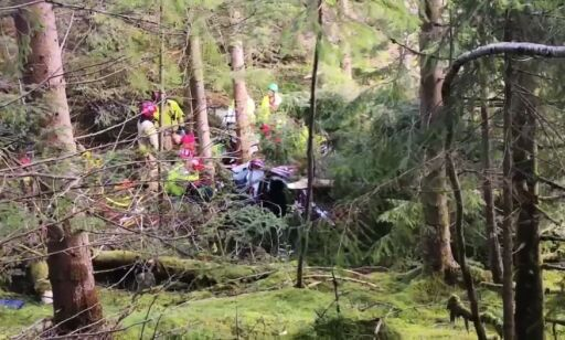 Man was badly injured after his descent