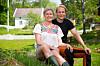 VENDELA OG PETTER: Petter Pilgaard og Vendela Kirsebom møttes da de deltok i «Kjendis-Farmen» i fjor sommer. Nå er de to blitt et par. Til KK åpnet Vendela opp om hvorfor det tok så lang tid før de bekreftet forholdet. Foto: TV 2